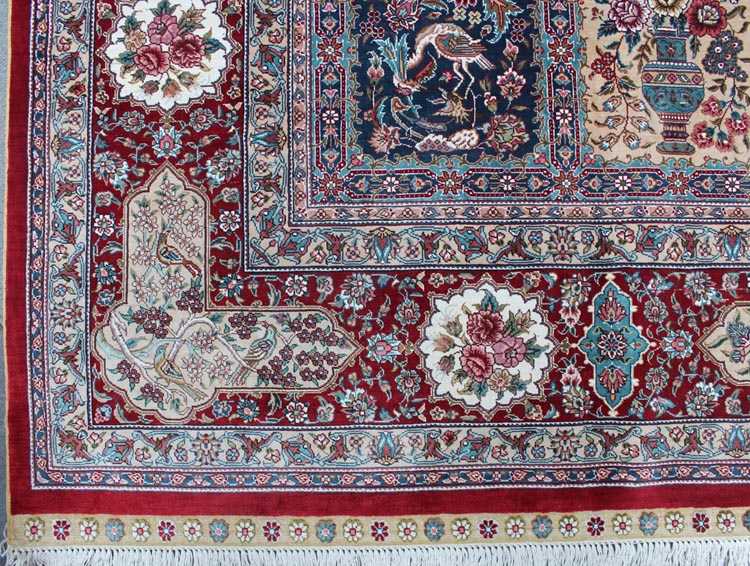 silk carpet fringes